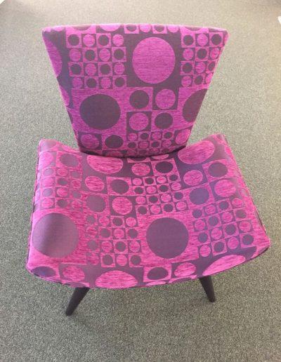 exposition de meubles - fauteuils à Caen