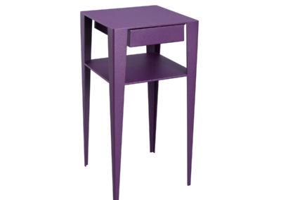 Chevet design violet à Caen