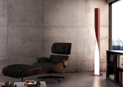lampadaires design à Caen
