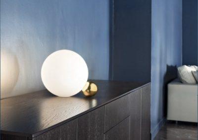 Lampe sphère Lampada Tavolo ambiente 3 - FLO