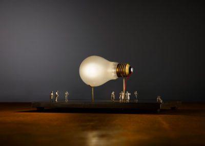 Lampe à Caen - Monument